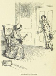 Jane Austen Sense and Sensibility - I was formally dismissed