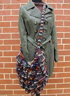 sashay yarn projects on Pinterest   Sashay Yarn, Ruffle Yarn and ...