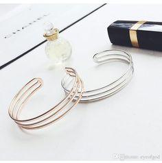Image result for three simple gold bracelets