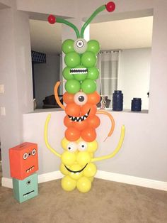 Little monster Birthday Party Ideas - Connie Johnson - PinTrend Little Monster Birthday, Monster 1st Birthdays, Twins 1st Birthdays, Monster Birthday Parties, Gold Birthday Party, Carnival Birthday Parties, 1st Boy Birthday, First Birthday Parties, Birthday Surprises For Her