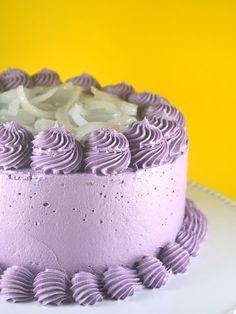 Ube Macapuno Cake Recipe - Bake Happy