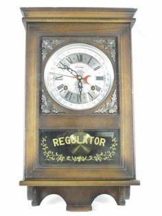 shopgoodwill.com: Vintage Alaron Regulator 31 Day Wall Mount Clock