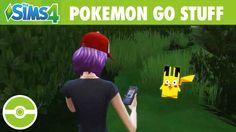 The Sims 4 Pokemon GO Stuff! [Simlish Trailer]