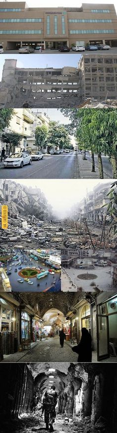 Syria used to be developed. | For more #cool #funny #gif #gags #comic #cute #adorable #meme #humor like this , visit CheeseFeed.co/ :)