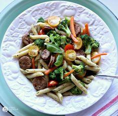 Penne Primavera Pasta Recipe | Find more quick & delicious recipes on TodaysCreativeLife.com #pastapalooza #dreamfieldspasta