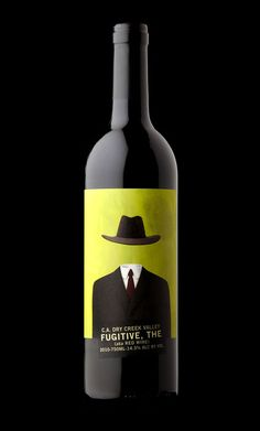 Fugitive, for all our #wine loving #packaging peeps PD