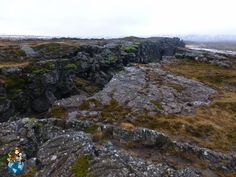 Almannagjá in Thingvellir National Park (Iceland)