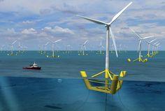 L'énergie éolienne en mer : l'éolienne offshore