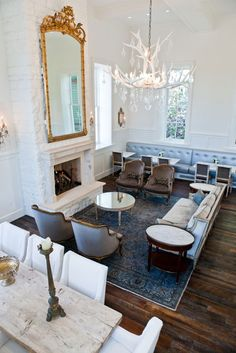 The lobby at Park City's Washington School House Hotel #parkcity #washingtonschoolhousehotel