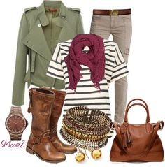 """""""Military Chic"""" by smoore2 on Polyvore"""