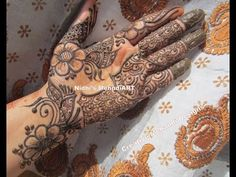 YouTube #traditional #arabic #henna #mehndi #design #tutorial