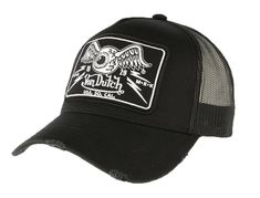 Casquette Von Dutch Noire Flying Eyeball Truck Pinstripe Art, Trucks, Adidas, Guys, Fashion, Cool Hats, Embroidery, Black Women, Moda