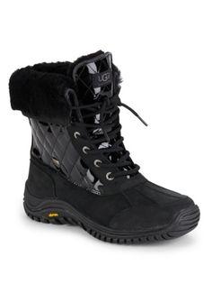 UGG - Adirondack II Leather & Wool Boots