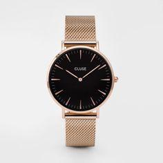 Cluse Watch - La Bohème - Rose Gold Black/Black