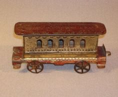 Painted Tin Pullman with Patient Date