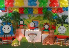 Festa Thomas e Seus Amigos: 30 ideias incríveis para você se inspirar!