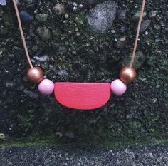 Sun Slice Necklace by Ellebrux