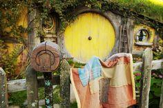 #NouvelleZelande : sur les pas de Tolkien à Hobbitebourg