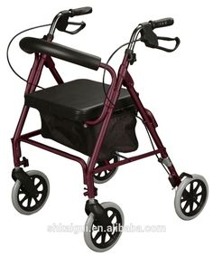 Walker Roller Chair Revolving Best Price 9 Alibaba Images Cannes Walking Canes Butterfly New Burgundy Rollator Rolling Medical With Curved Back Soft Seat Amazon Website