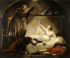 James Northcote, R.A.(1746 – 1831) Friar Lawrence at Capulet's Tomb, Romeo and Juliet