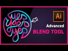 Learn how to make the most of the Blend Tool in Illustrator to create a cool typographic design or logo design. See the whole process step by step and discov. Graphic Design Trends, Graphic Design Tutorials, Blend Tool, Retro Logos, Vintage Logos, Vintage Typography, Tool Design, Ad Design, Report Design