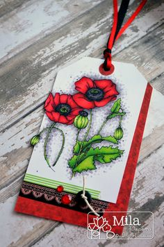 Poppies tag, #ADFD, #Spectrumnoir,