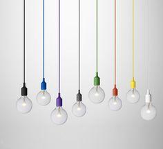 E 27 - Socket Lamp - Muuto - 59,00 € - Design hanglampen