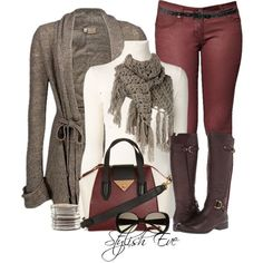 Stylish Eve 2013 Winter Outfits: Let it snow, let it snow, let it snow!