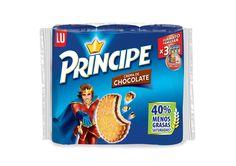 4,20€ - Principe galleta - Sandwich relleno de chocolate(e 300g x 3.): Amazon.es: Supermercado