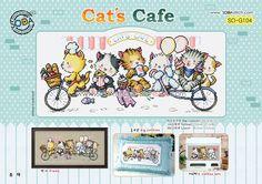 Sodastitch Indonesia SO-G104 - Cat's Cafe