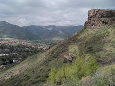 North Table Mountain: Hiking and biking trails that look over Golden to the west and Denver city skyline to the east. Bring water :)