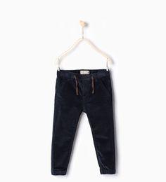ZARA - KIDS - Corduroy jogging trousers