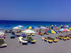 rhodes, greece Greek Islands, Rhodes, Outdoor Furniture, Outdoor Decor, The Places Youll Go, Sun Lounger, Greece, Canning, Pictures