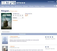 www.boktipset.se . Om Rörgast http://www.boktipset.se/lists/show_list.cgi?context=book&type=comments&key=13933501 . Min profil http://boktipset.se/medlem/kentlundgren .