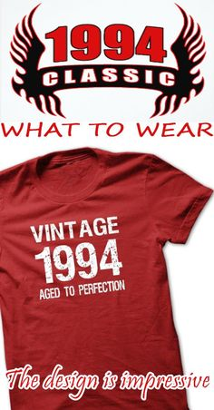 VINTAGE 1994 Aged To Perfection T-shirt and Hoodie