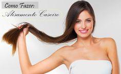 Aprenda a fazer um excelente alisamento caseiro sem química. Os resultados são cabelos lisos, sem frizz e hidratados.