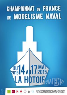 Le championnat de France de modélisme naval, ça se passe à Amiens du 14 au 17 Mai 2015