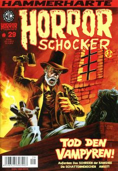 Cover for Horrorschocker (Weissblech Comics, 2004 series) #29 JUNI 2012