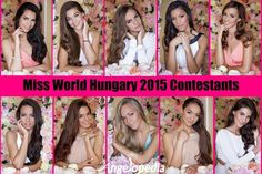 Miss World Hungary 2015 Pageant Info