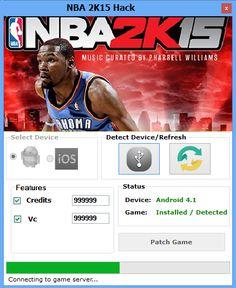Hack and Keygen: NBA 2K15 Hack
