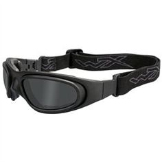 b3431ba3b4 Wiley X Goggles - Smoke Grey + Clear Lens   Matte Black Frame