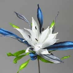 Make a flower from twine - really!