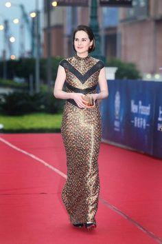 Michelle Dockery In L'Wren Scott – 10th Huading Awards