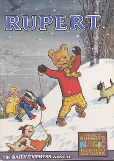 Rupert The Daily Express Annual 1967 by by ExceedinglyWellRead, $9.99