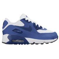 83ee22d3469b Nike Air Max 90 - Boys  Preschool - White   Blue