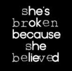 Because she expected too much. She believed she deserved more guess she was wrong.