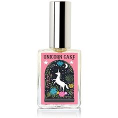 Unicorn Cake Perfume. Sweet Rainbow bright and fruity by Theme... ($20) ❤ liked on Polyvore featuring beauty products, fragrance, fruity fragrances, fruity perfumes, fruit scented perfume, perfume fragrance and parfum fragrance