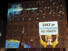 Projection Mapping @Istanbul Taksim (Turkcell)