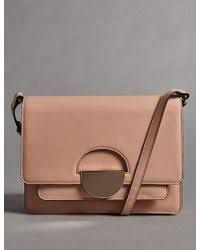 Image result for marks and spencer nude leather bag