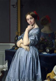 lacarton.com.es Jean August Dominique Ingres - Louise de Broglie